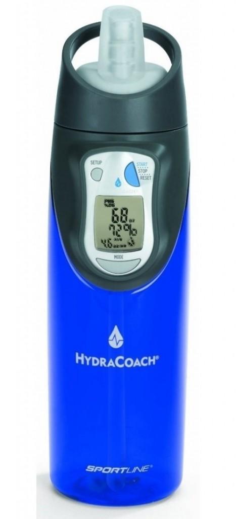 Ideální pro sportovce. Umožní Vám vědět, kolik vody byste měli pít po celý den.