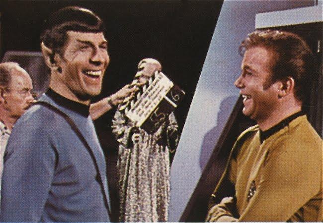 I Spock se někdy zasmál