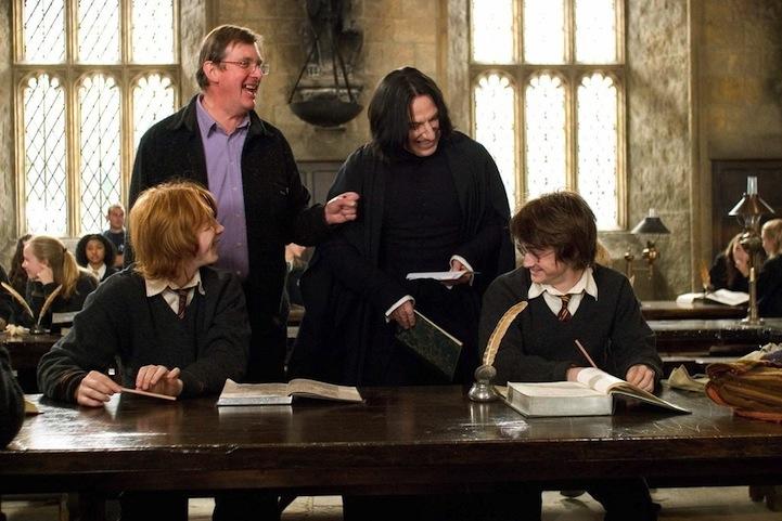 Snape a jeho historicky první úsměv na Harryho Pottera