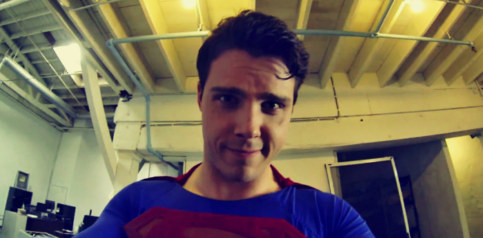 Superman-GoPro
