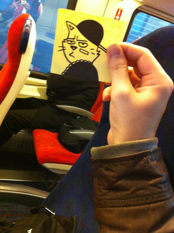 cartoon-faces-train-ride-october-jones-joe-butcher-3