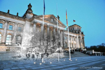 blending-scenes-from-wwii-into-present-day-storming-reichstag-berlin-germany