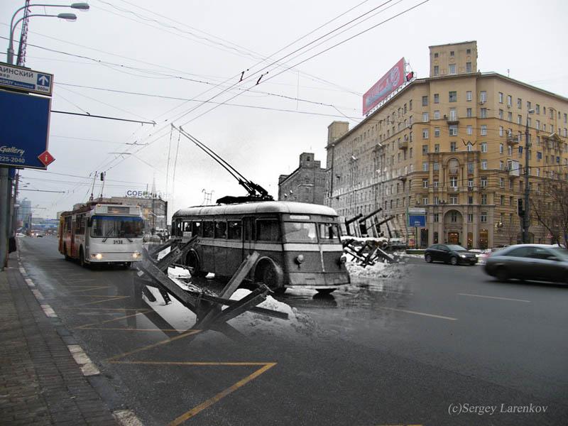 moscow-kutuzovsky-1941-2009-trolleybuses-moscow-kutuzovsky-prospekt-1941-2009-trolleys