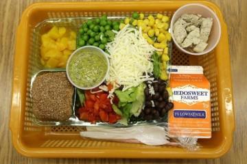 školní oběd Washington
