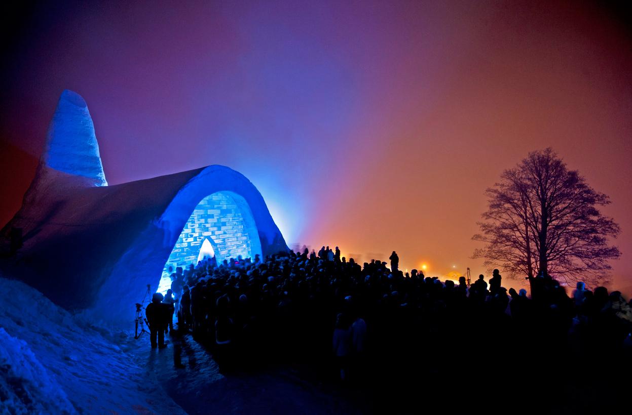 Kostel ze sněhu, Německo