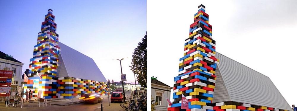 Lego kostel, Nizozemsko