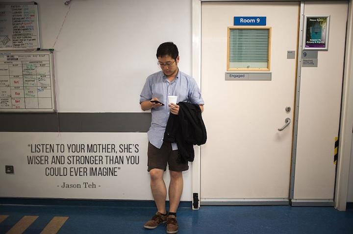 Poslouchej svou matku, je moudřejší a silnější, než by sis kdy dovedl/a představit.