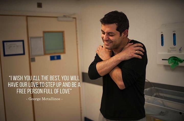 Přeji ti to nejlepší, budeš mít naši lásku k tomu, abys mohl/a vyniknout a být svobodným člověkem plným lásky.