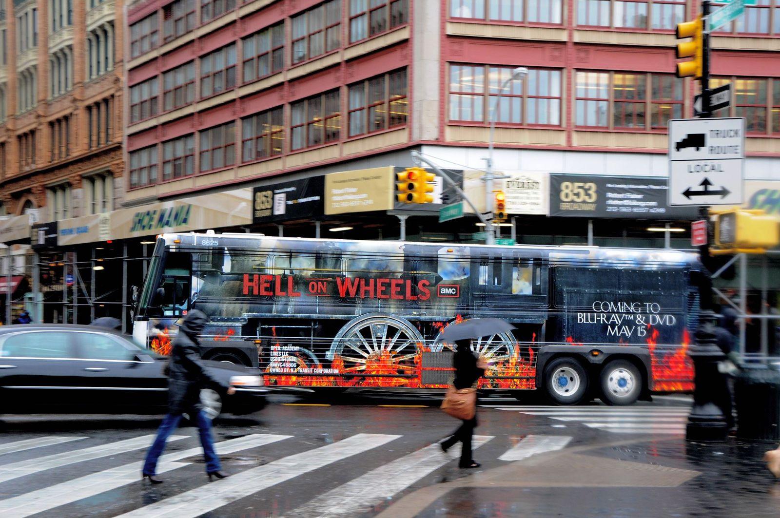 Hell on Wheels - televizní seriál
