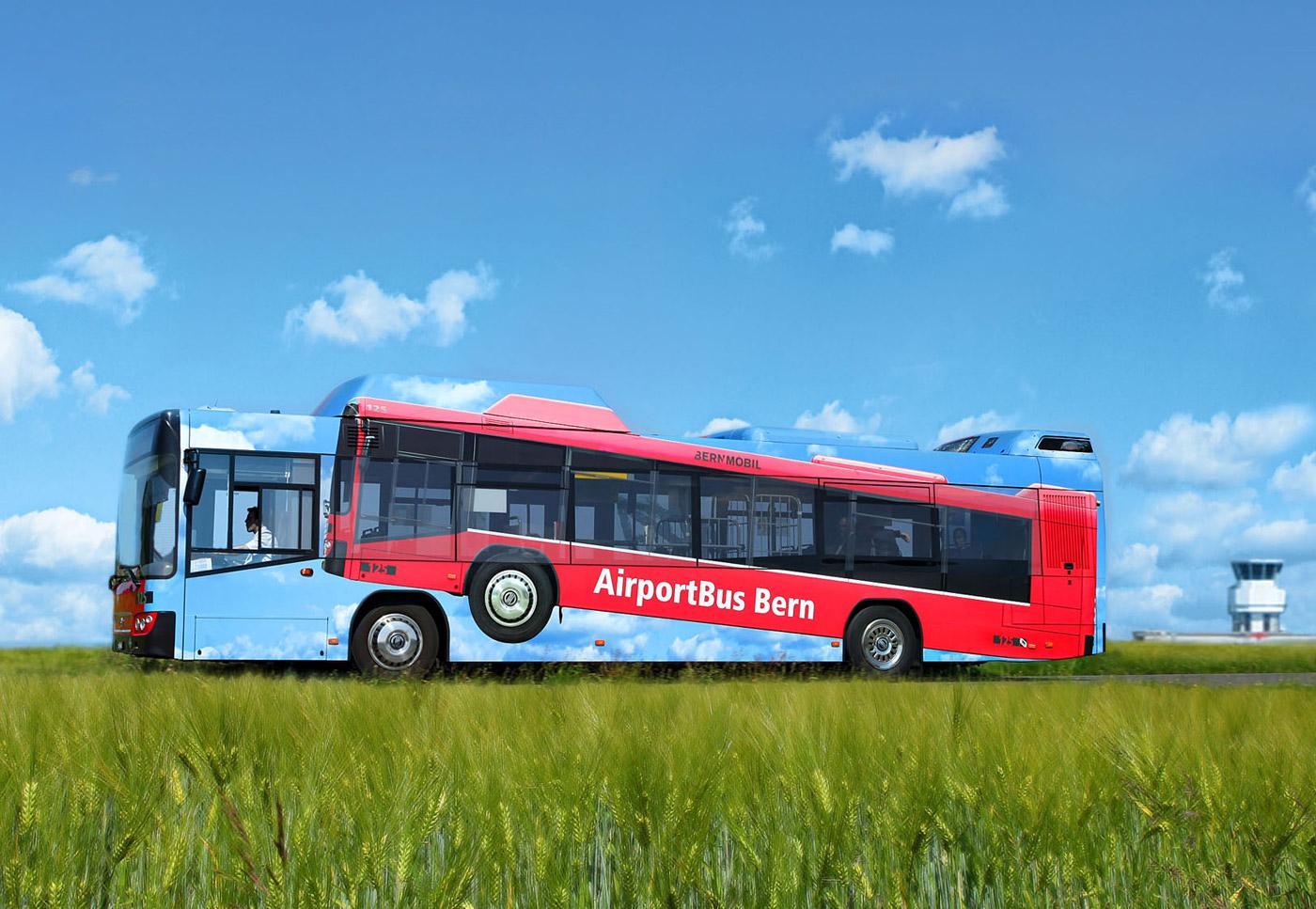 Bernmobil - letištní autobus