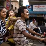 We are happy family (Kambodža)