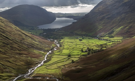 1. Wasdale Head from the lower slopes of Great Gable