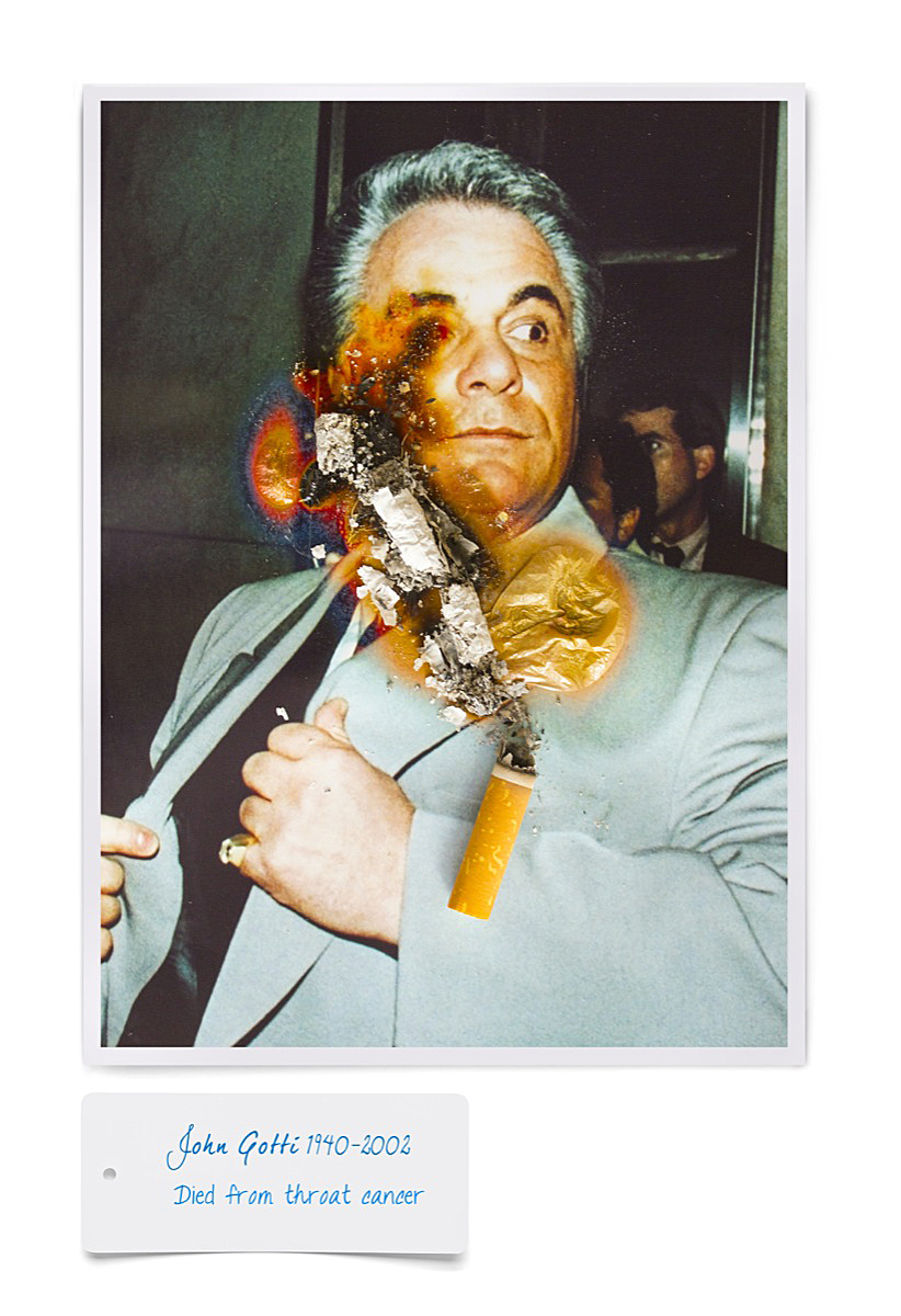 John Gotti smoking death