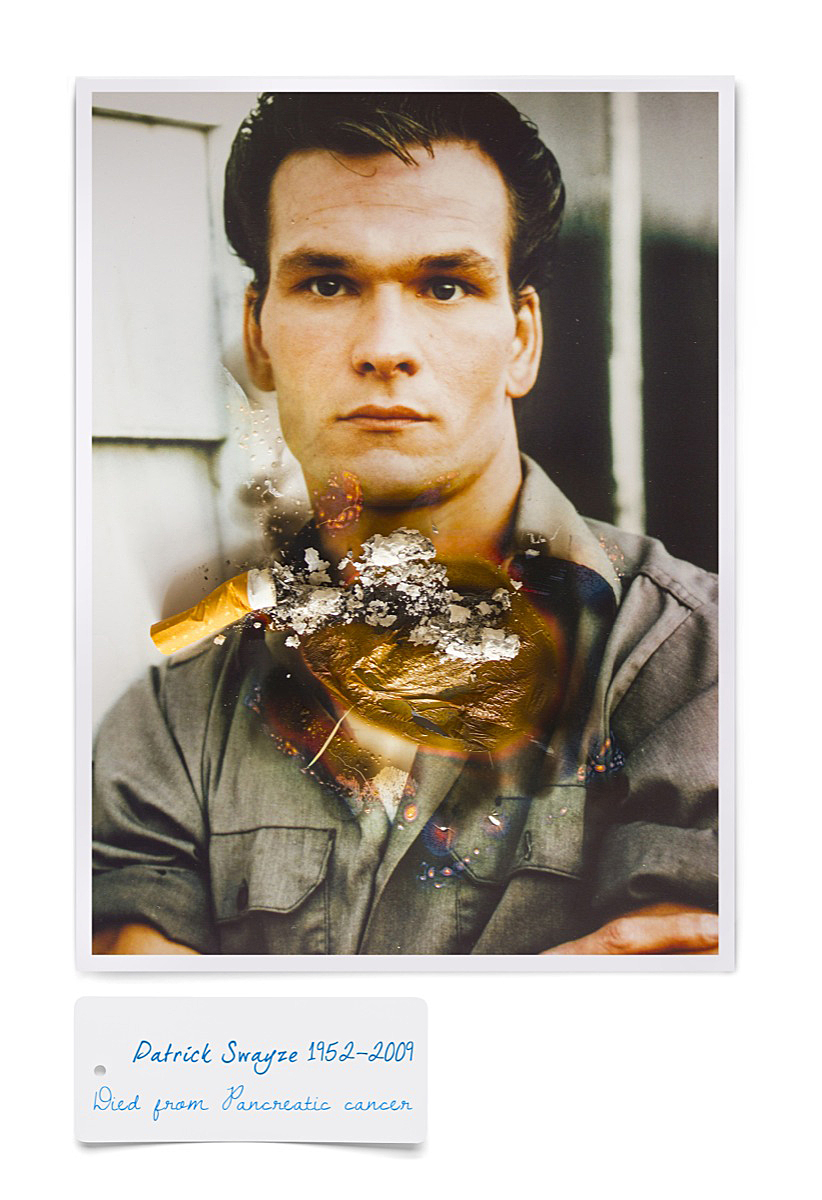 Patrick Swayze smoking death