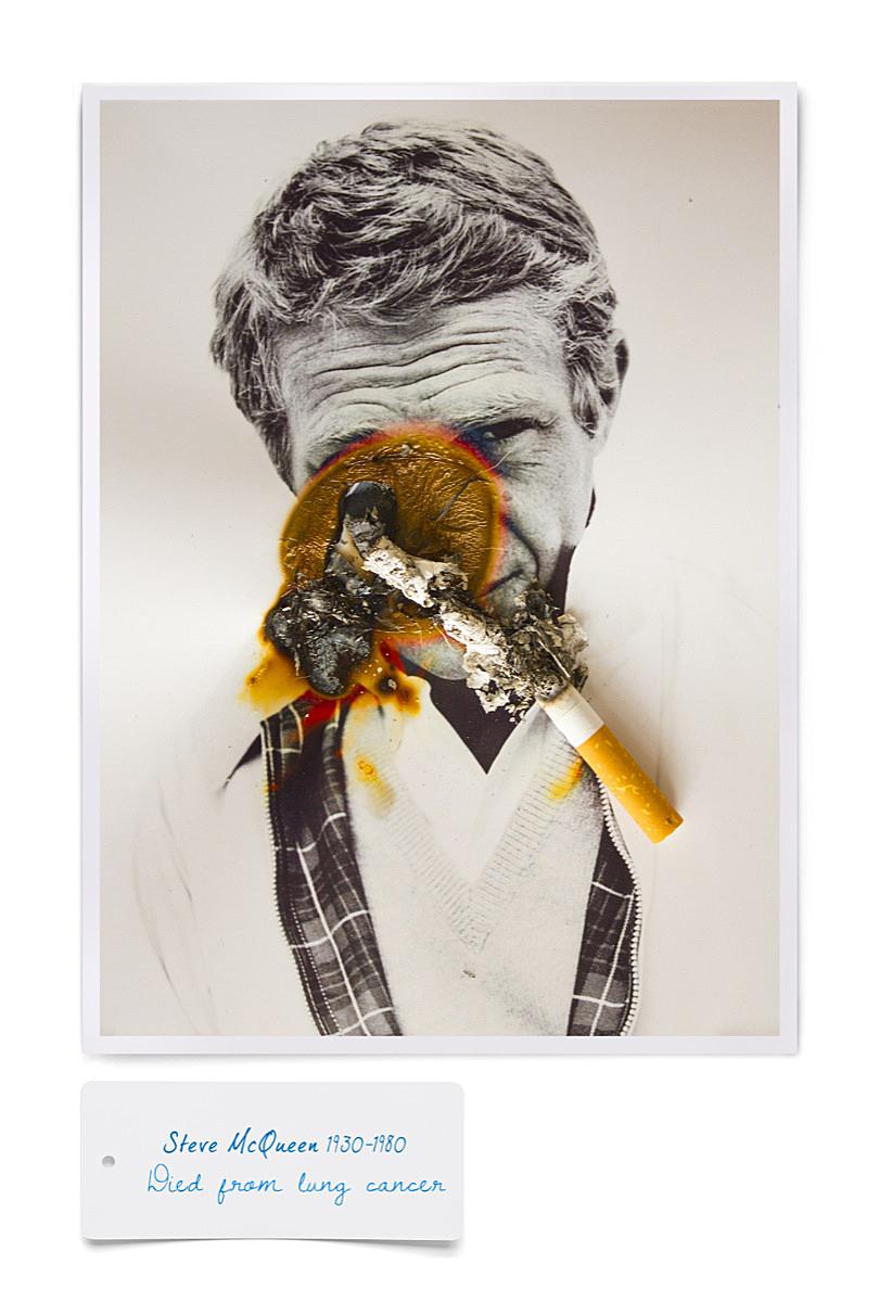 Steve McQueen smoking death