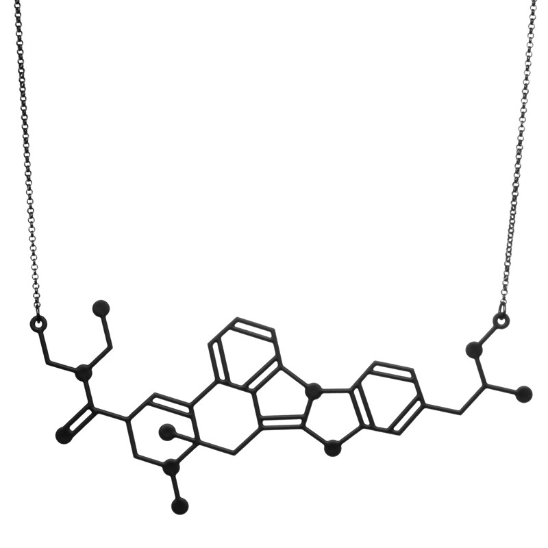aroha_silhouettes_designer_drugs_candy_flipping_molecule_necklace_1