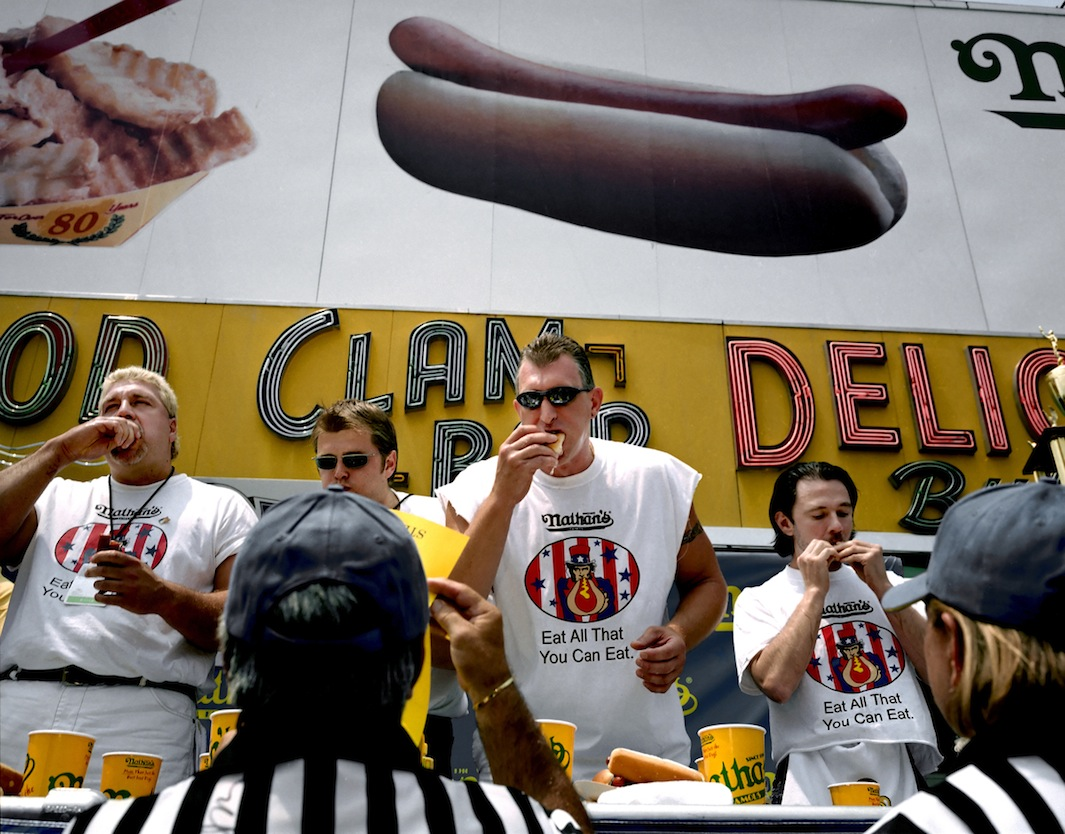 Coney Island Hot Dog Eating Contest