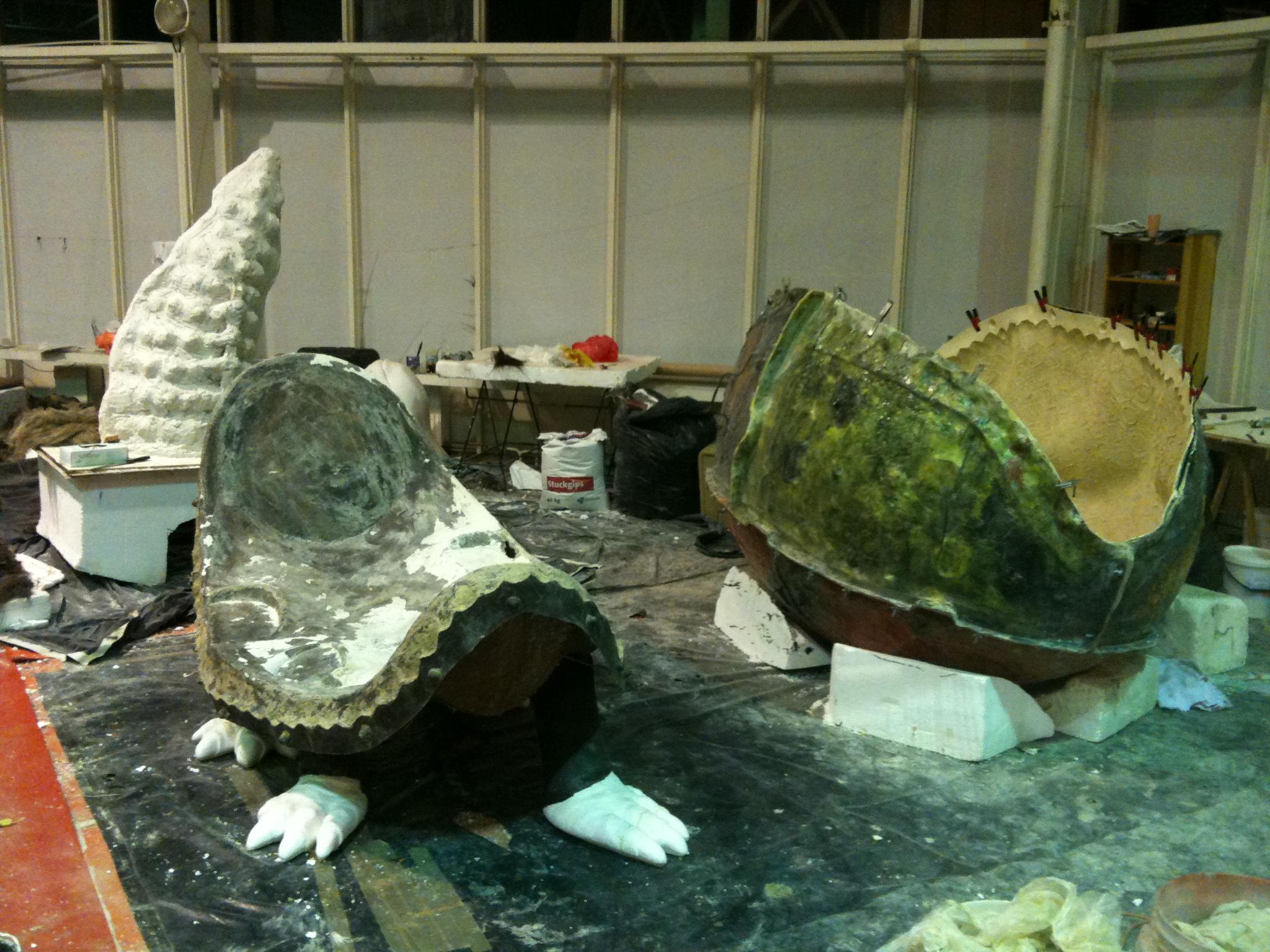 25. Glyptodon výroba fromy
