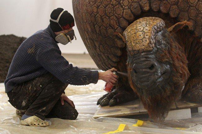 26. Glyptodon poslední dostřik