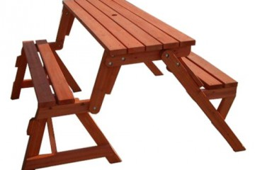 Creative-Ideas-DIY-Folding-Bench-and-Picnic-Table-Combo-1