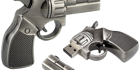 Flash disk pistol