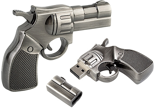 Flash disk pistol