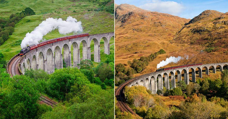 Glenfinnan viaduct, Skotsko