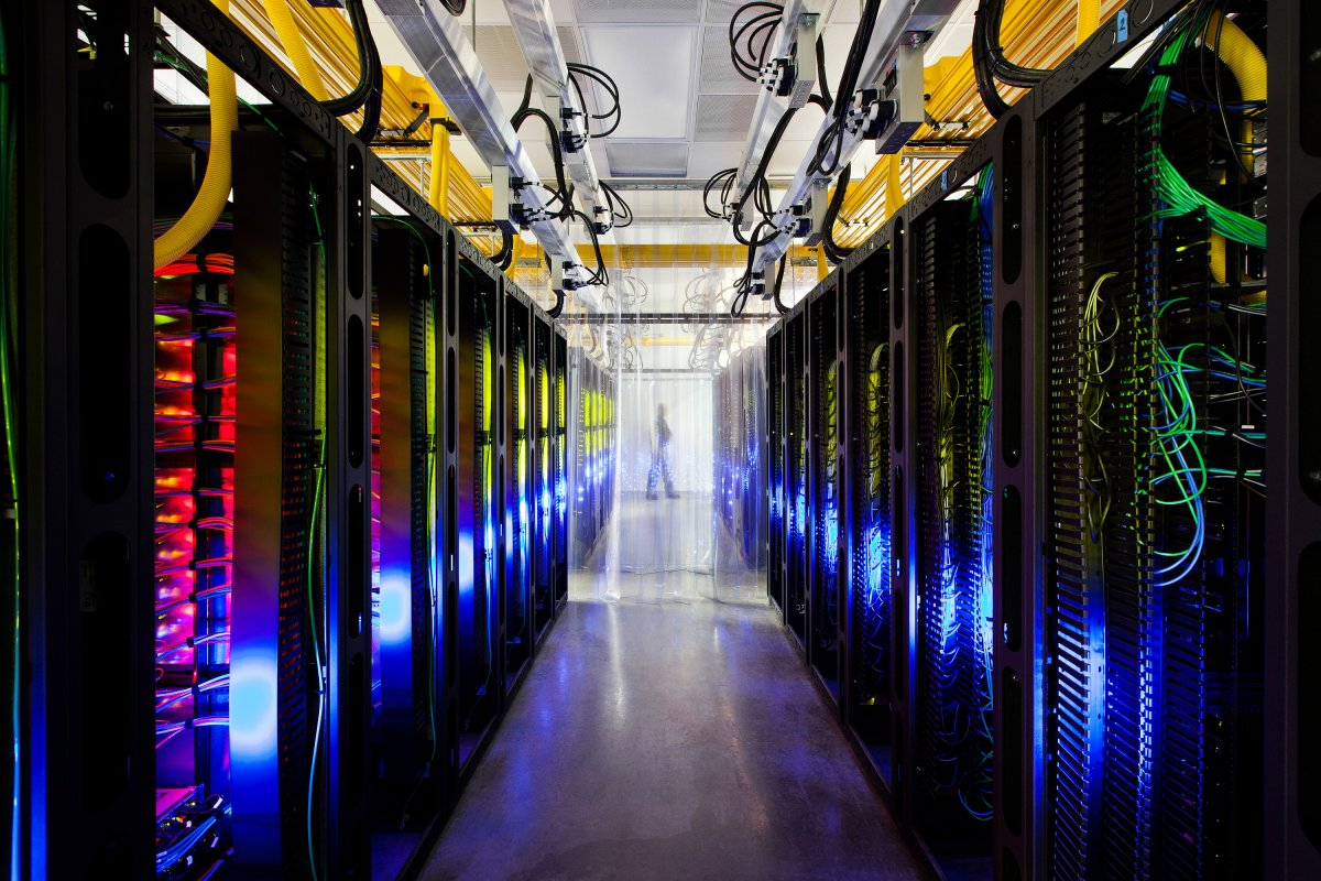 in-the-campus-network-room-routers-and-switches-allow-data-centers-to-talk-to-each-other-the-network-connecting-these-sites-can-run-at-speeds-that-are-more-than-200000-times-faster-than-a-typical-home-internet-c