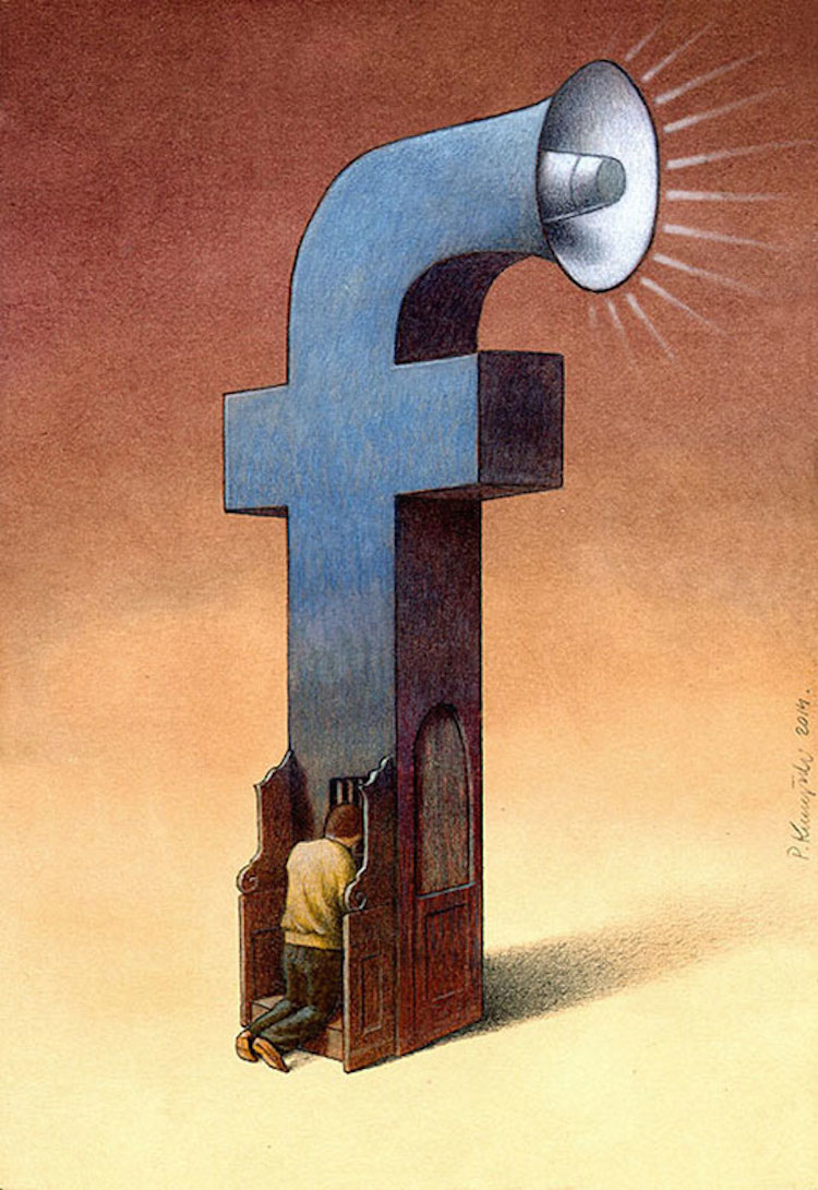 what-facebook-feels-like-in-2014-by-pawel-kuczynski-4a