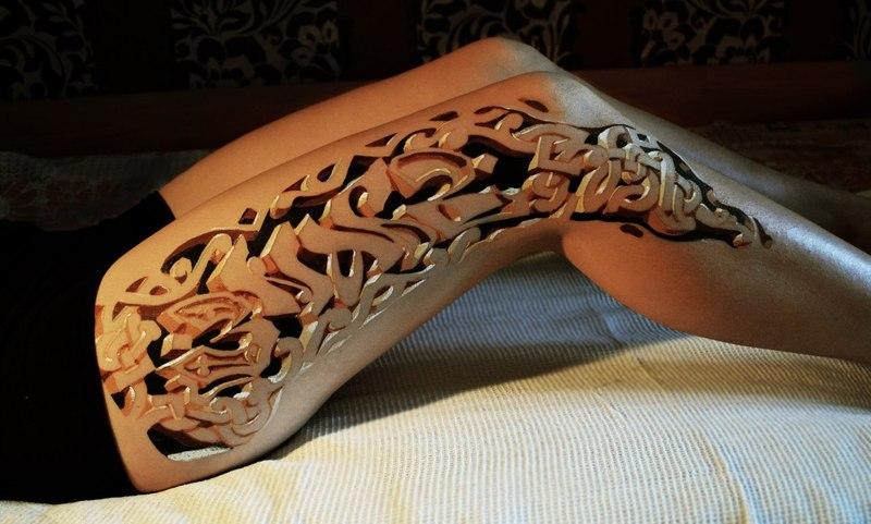 3d-leg-tattoo