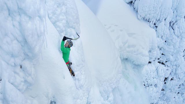 Climbing-a-Waterfall-in-British-Columbia-by-Wiktor-Skupinski