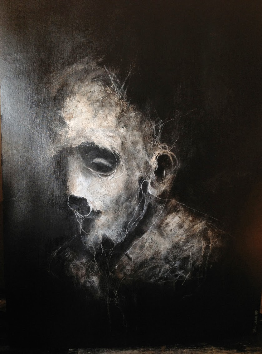 Monster Surrealism - Visionary Art Paintings By Eric Lacombe-11
