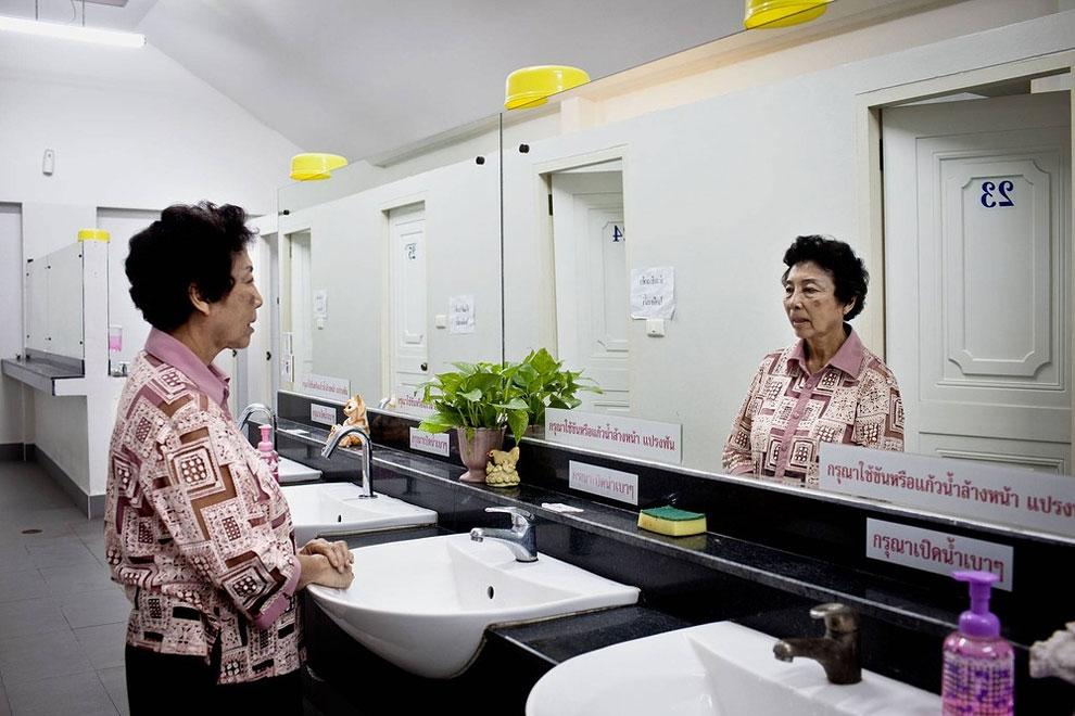 Thajsko - veřejné záchody (Patrick Brown)
