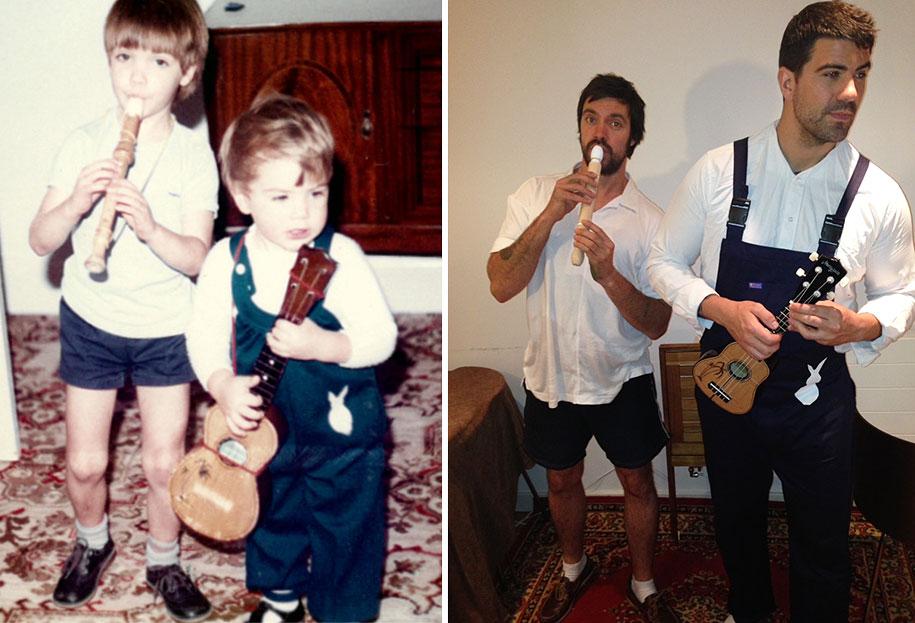 childhood-photo-recreation-parents-anniversary-gift-3
