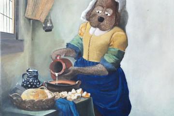 "Jan Vermeer ""Mlékařka"""