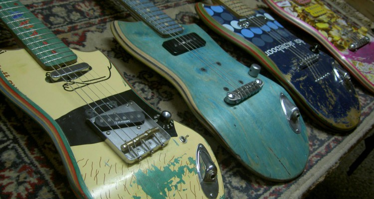 recycled-skateboards-decks-electric-guitars-0