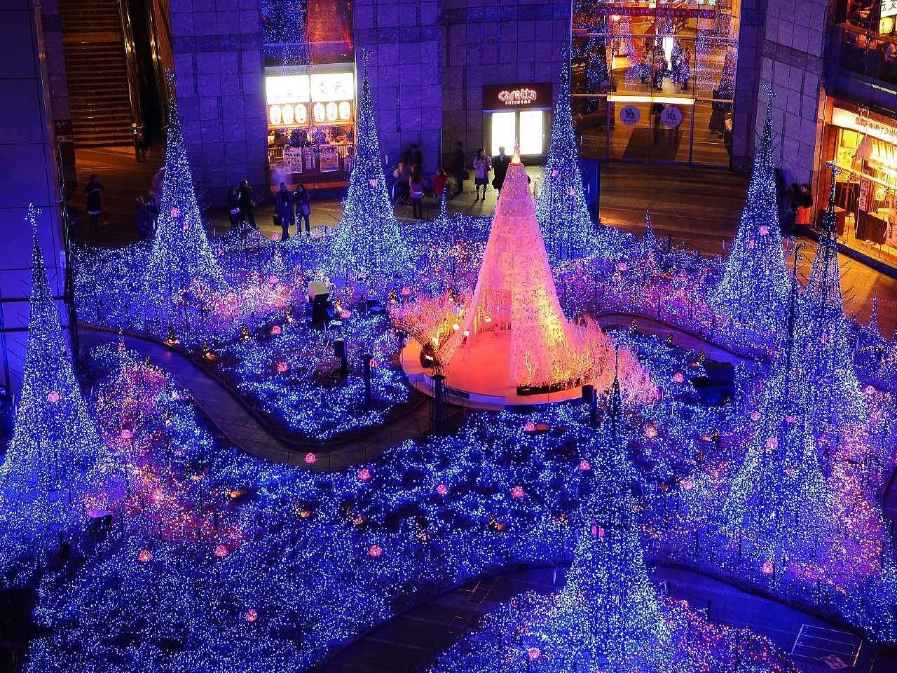 shiodome_christmas_lights