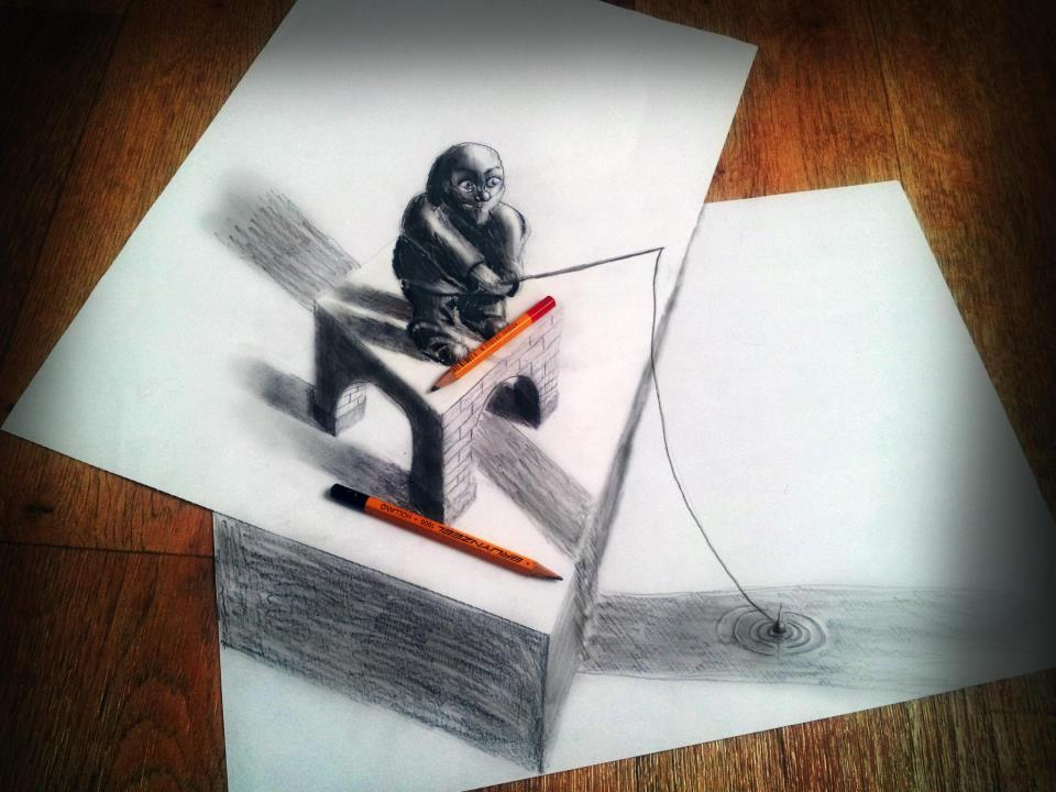 3D-Optical-Illusion-Style-by-Ramon-Bruin-12
