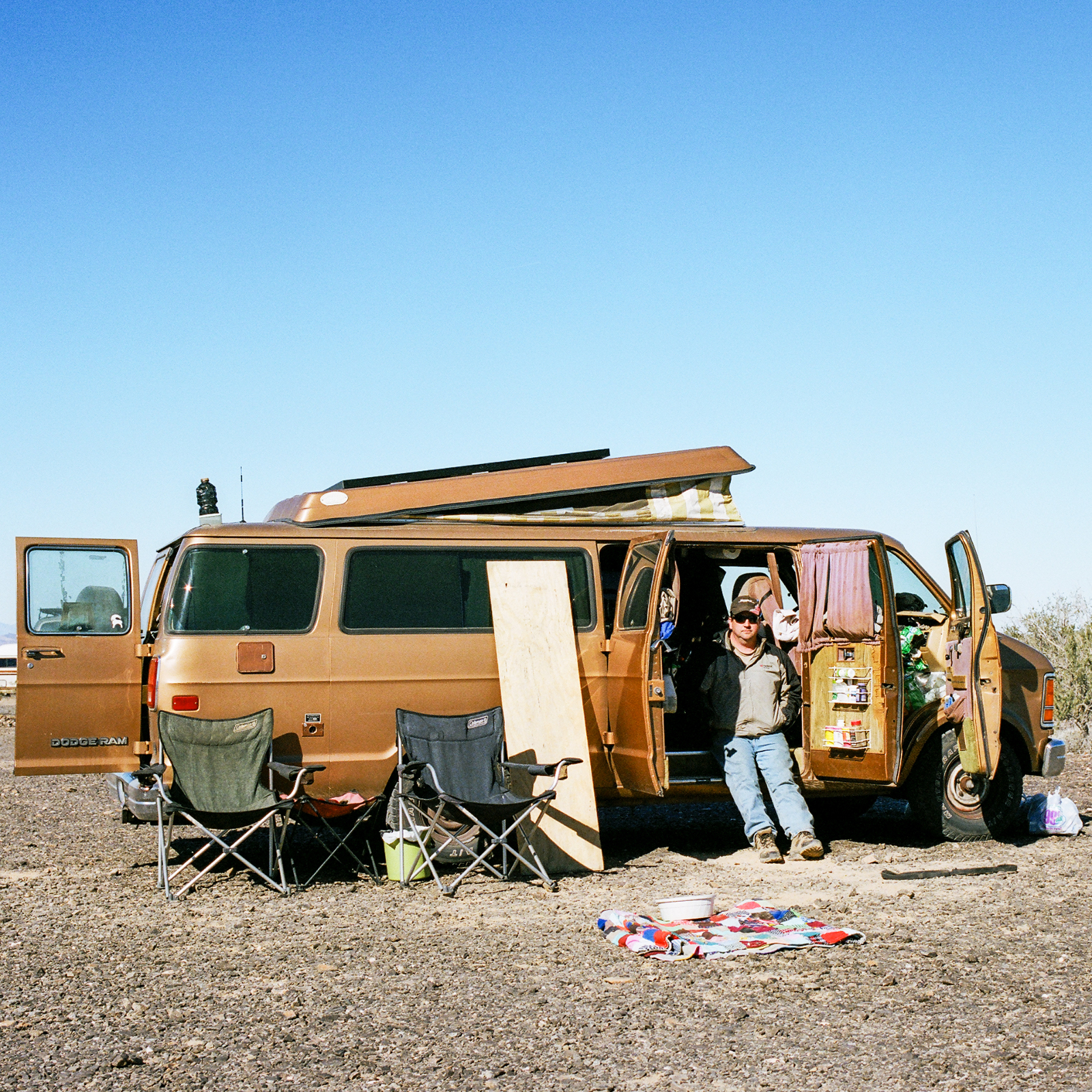 Ryan Berg, Quartzsite, Arizona, 2013