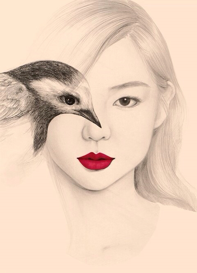 The-Girl-and-The-Birds-Drawings-5