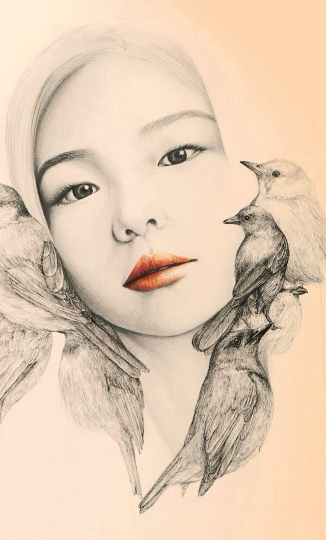 The-Girl-and-The-Birds-Drawings-8