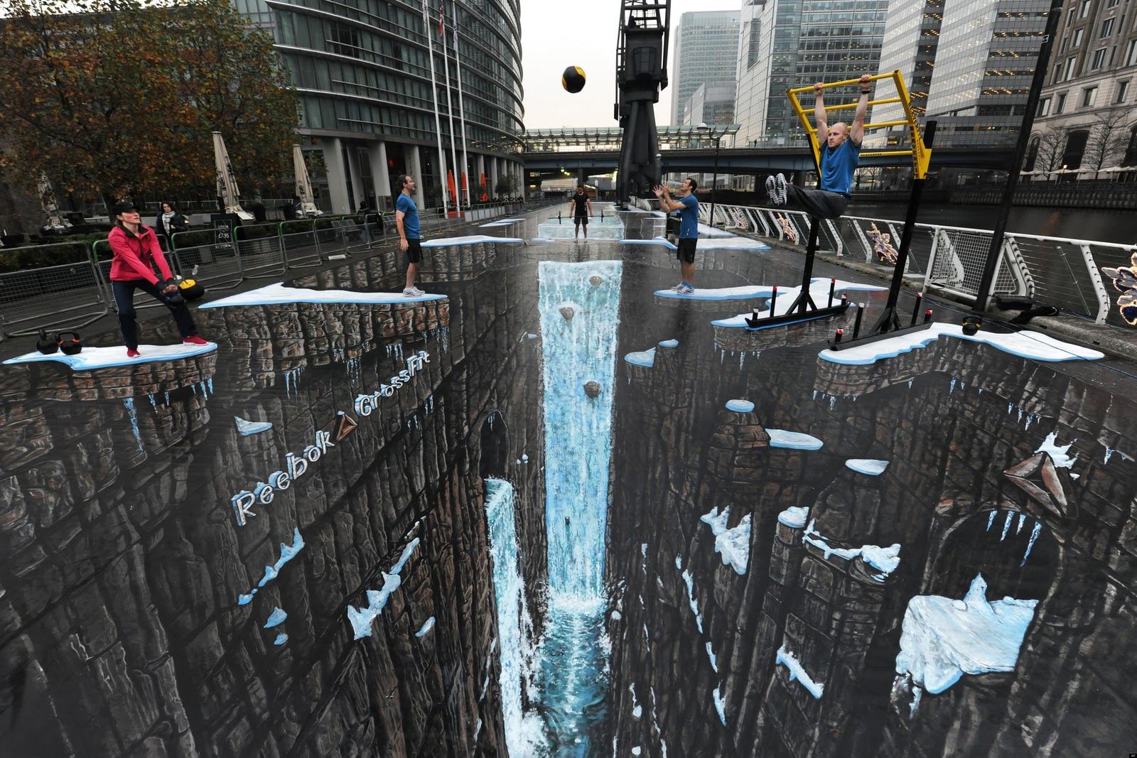 3D Street Mural world's largest 3D painting
