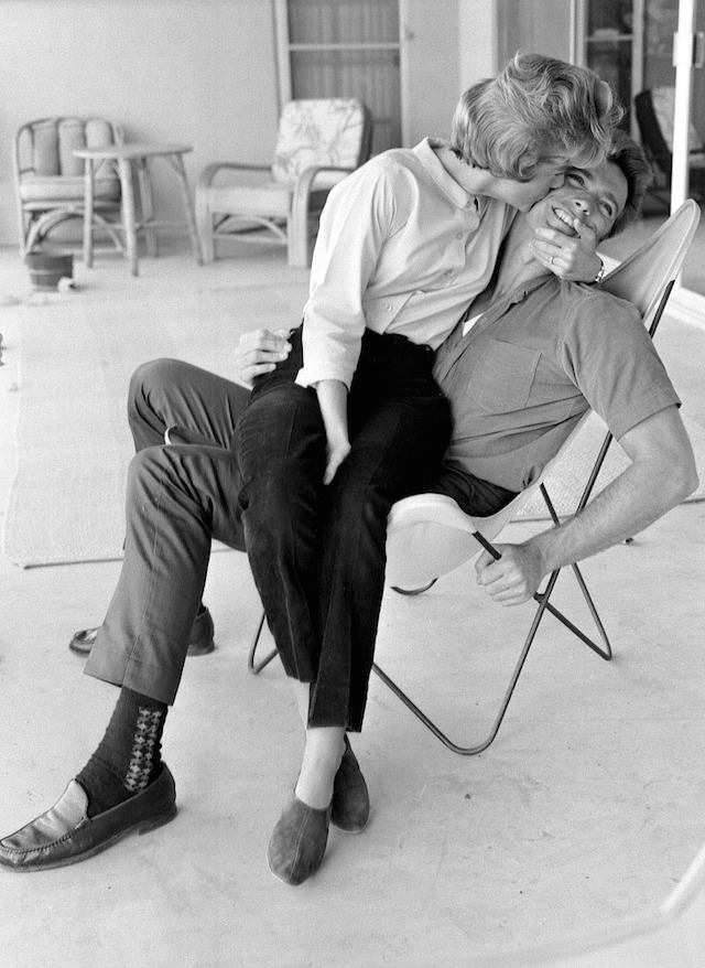 Clint-Eastwood-and-his-wife-by-Larry-Barbier-JR