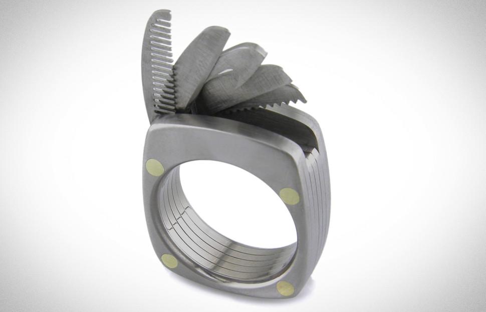 Multifunkční prsten