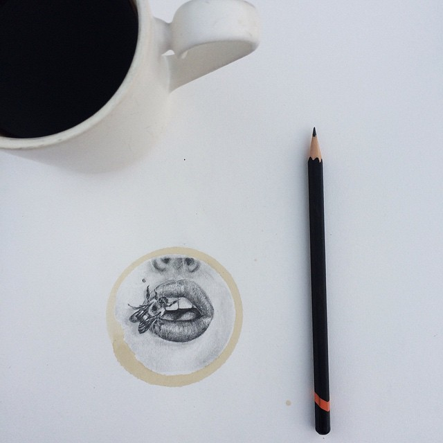 Pencil-Drawings-and-Coffee-Marks-131