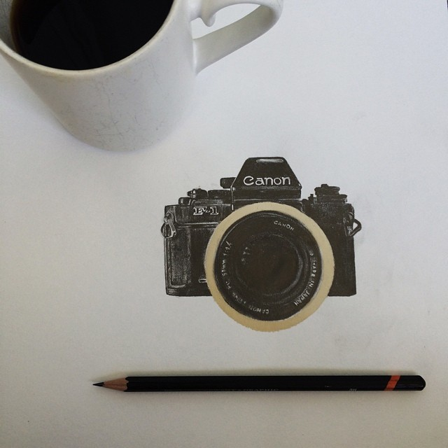 Pencil-Drawings-and-Coffee-Marks-81