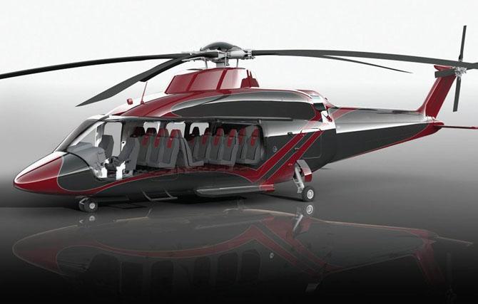 Luxusní vrtulník