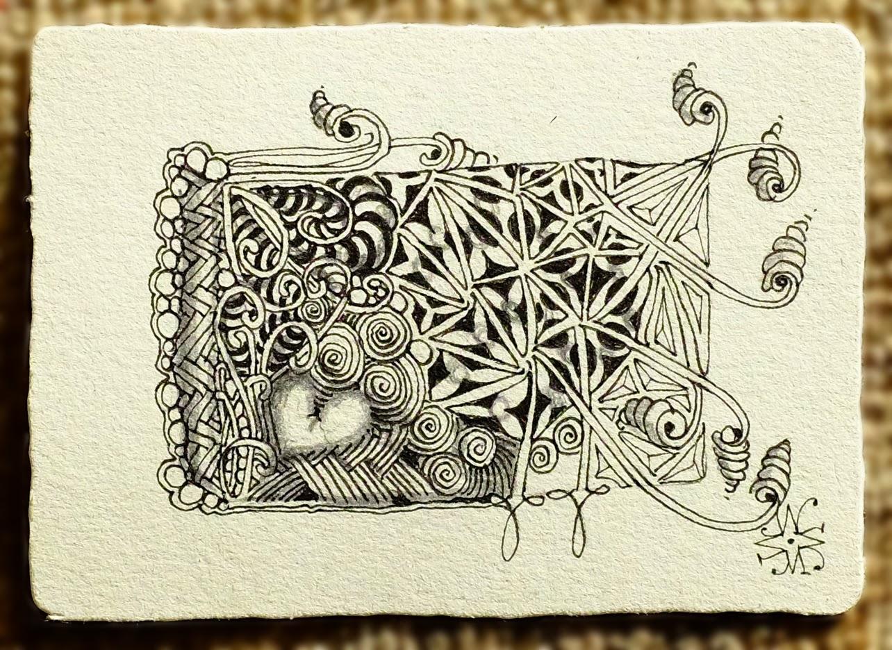 Kresba Zentangle