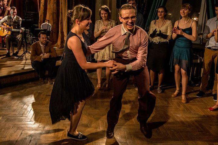 Peter tančí swing