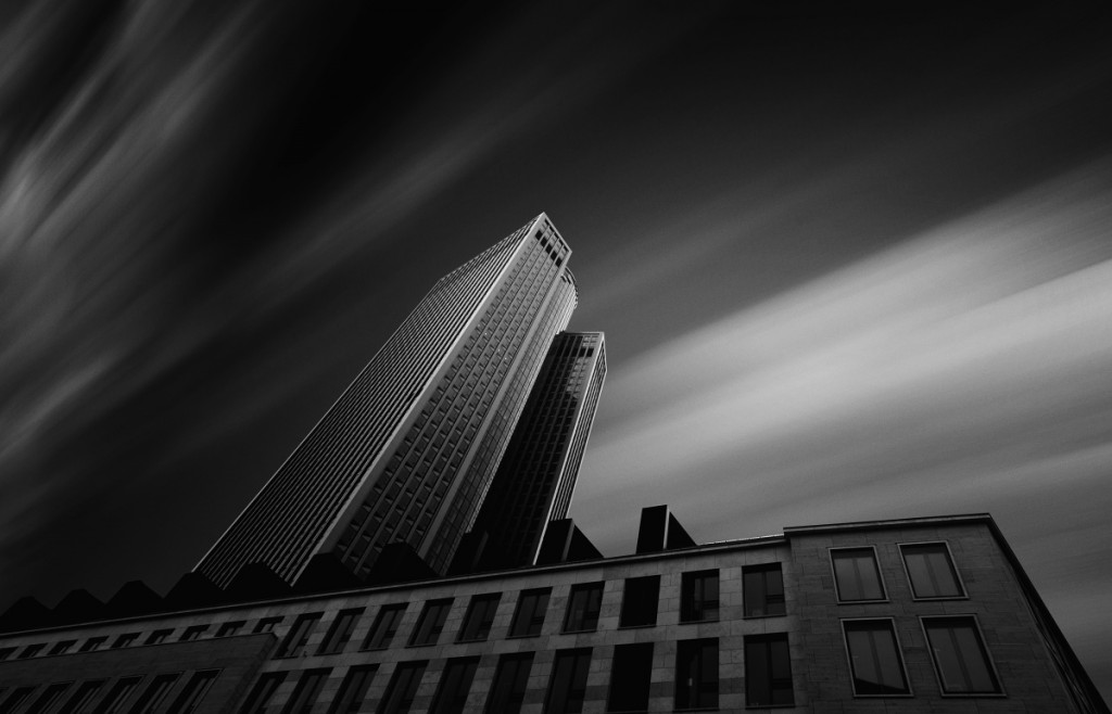 Architektura - pohyb mraků